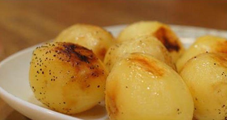 Tejben sült fűszeres burgonya, ha unod az olajban sült variációt, ezt próbáld ki!