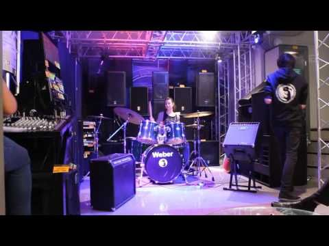 The Police Every breath you take, Drum Cover, Юлия Иванова, Центр Искусс...