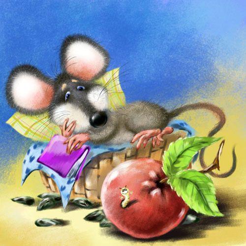 Моя мышка веселые картинки, хаит рамазан