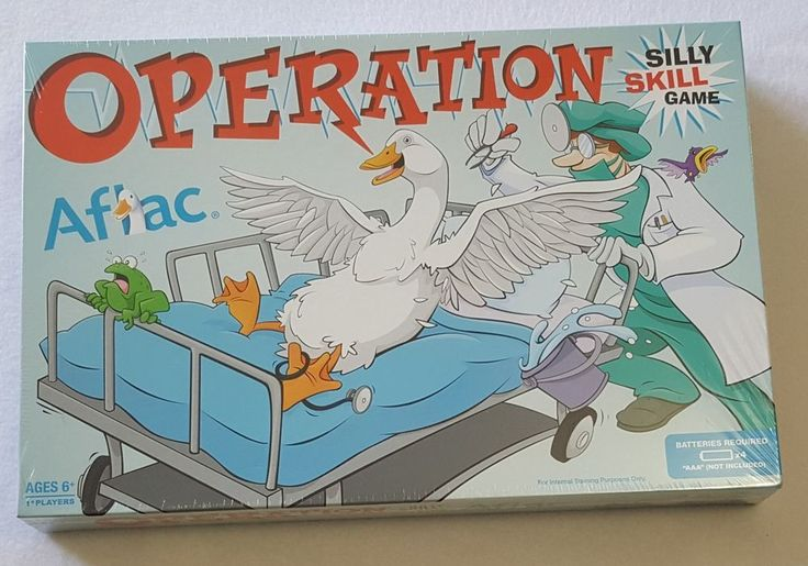 Hasbro AFLAC Insurance Co OPERATION BOARD GAME Advertising Promo Sealed HTF | Toys & Hobbies, Games, Board & Traditional Games | eBay!