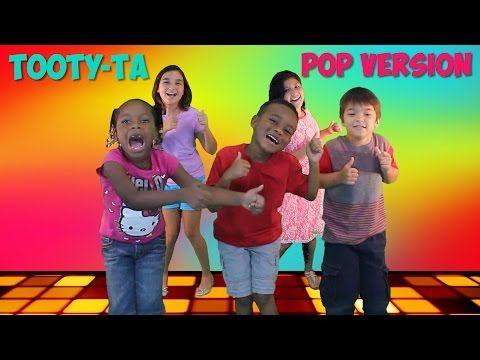 New Dance Song For Kids | Tooty-Ta (Pop Version) | Brain Breaks | Jack Hartmann - YouTube