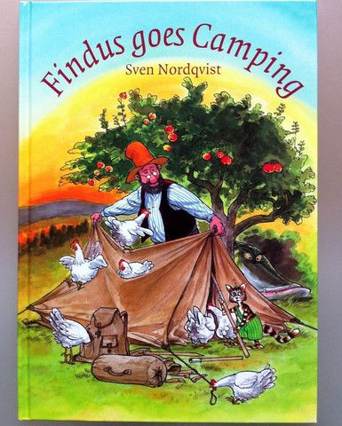 Sven Nordqvist: Findus Goes Camping – Tales for Tadpoles