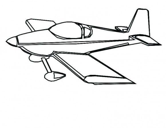 Desenhos Para Colorir Aviao Airplane Coloring Pages