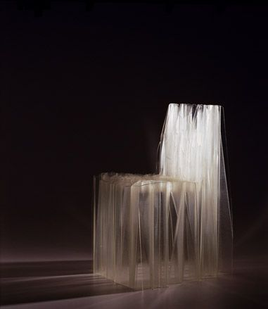 Patrick Jouin - Solid C1 chair - 2004 - ghostly for Halloween! http://www.patrickjouin.com/