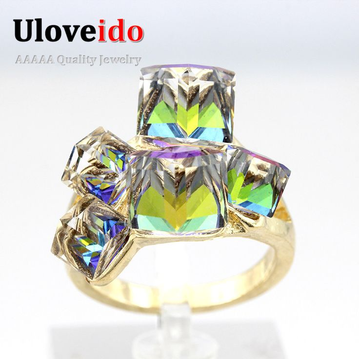 49% Off Square Sapphire ᗐ Jewelry Rose Gold Plated Rings Women Bijoux ( ^ ^)っ Blue/Red Simulated Diamond Ring Crystal Anillos Gift GR12349% Off Square Sapphire Jewelry Rose Gold Plated Rings Women Bijoux Blue/Red Simulated Diamond Ring Crystal Anillos Gift GR123