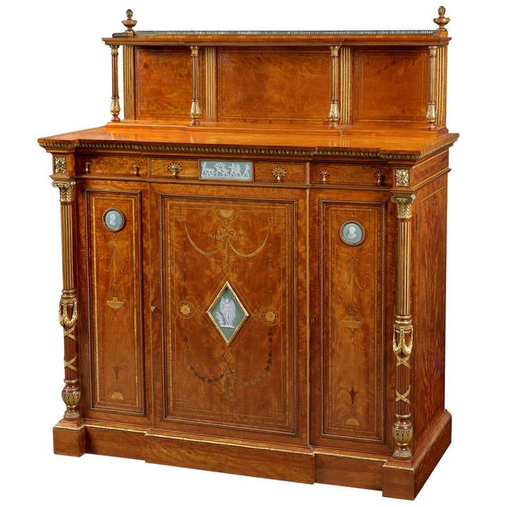 Superb Satinwood, Ormolu and Gilt Cabinet with Wedgwood Plaques - 958 Best Furniture Style Images On Pinterest Antique Furniture