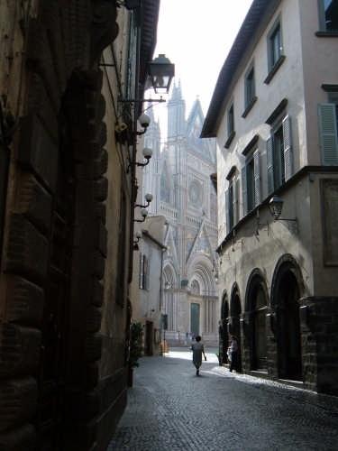 Ristornte Maurizio across from the Duomo Orvieto - Italia