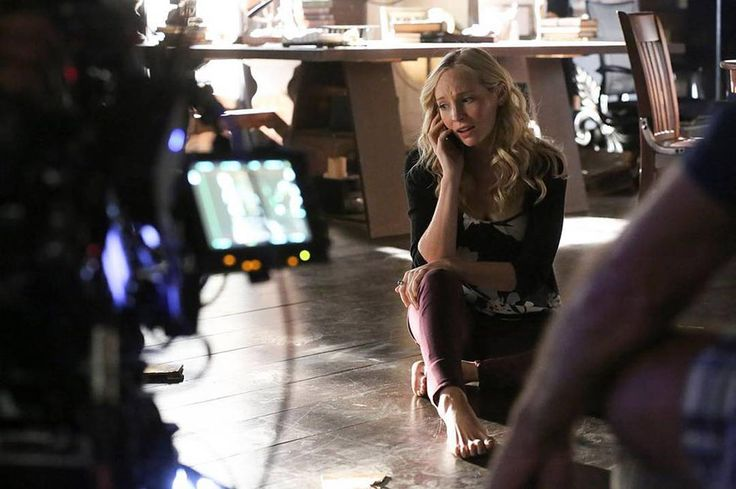 """The Vampire Diaries (@thecwtvd) on Instagram: """"See if Caroline can escape the heretics on a new #TVD TONIGHT at 8/7c. #BTS"""""""