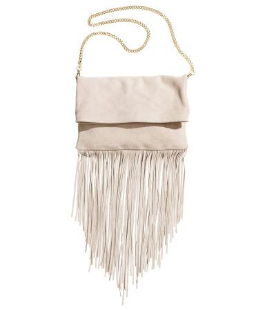 Product Detail | H&M US  Suede Clutch Bag $99