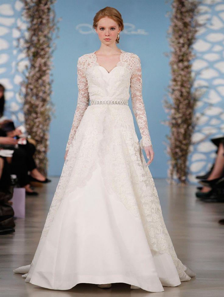 Oscar De La Renta Wedding Dresses For Spring 2014 Description From