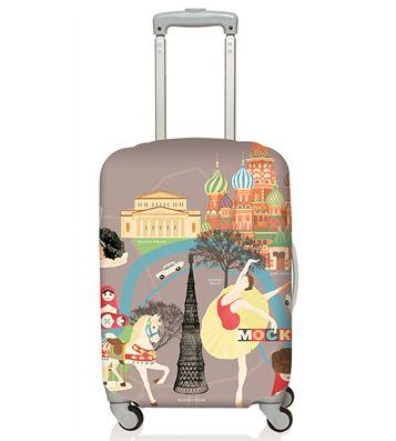 Чехол для чемодана LOQI 'Urban' (разные дизайны)