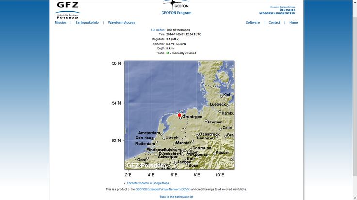 #Aardbeving #Gaswinning #Groningen