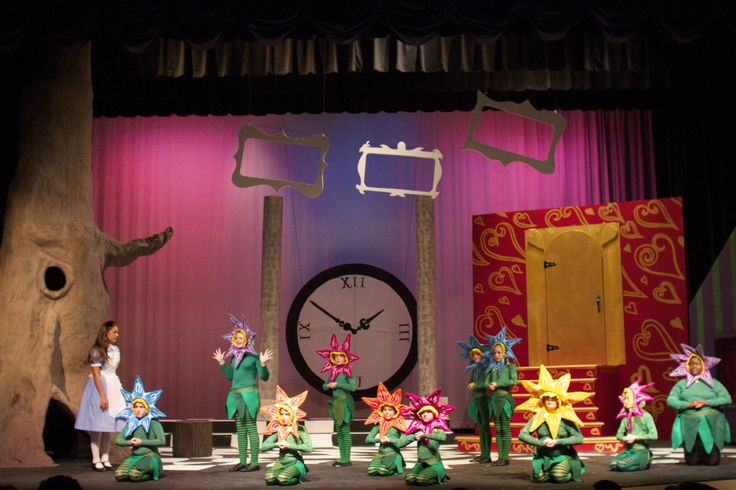 Alice in Wonderland. Canterbury School of Florida's elementary and middle school play 2012.