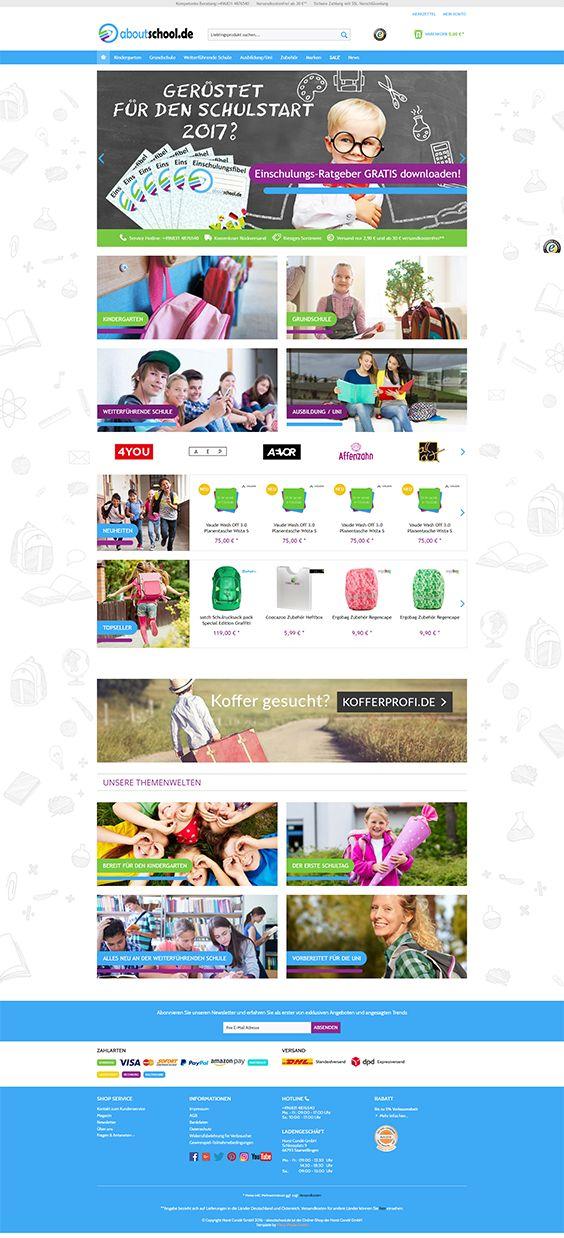 #ShopwareDesign #ShopwareTheme #ShopwareShop #eCommerce #eCommerceSoftware #eCommerceplatform #Onlineshop #Children #Kids #school #aboutschool