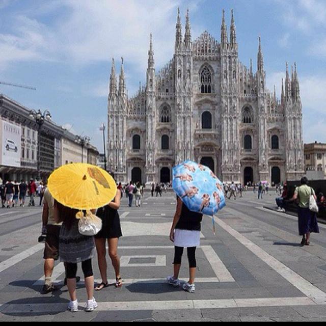 Milano. Piazza Duomo.