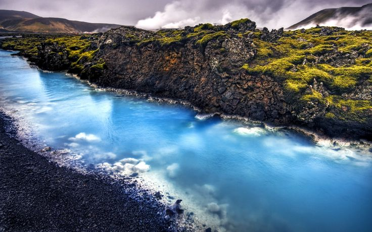 Image for Iceland Blue Lagoon Wallpaper For Android #e1yxu