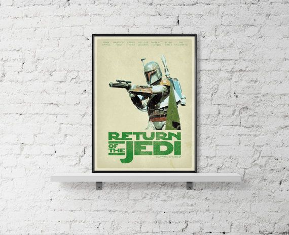 STAR WARS Inspired A Return Of The Jedi Movie by BaydleCreative