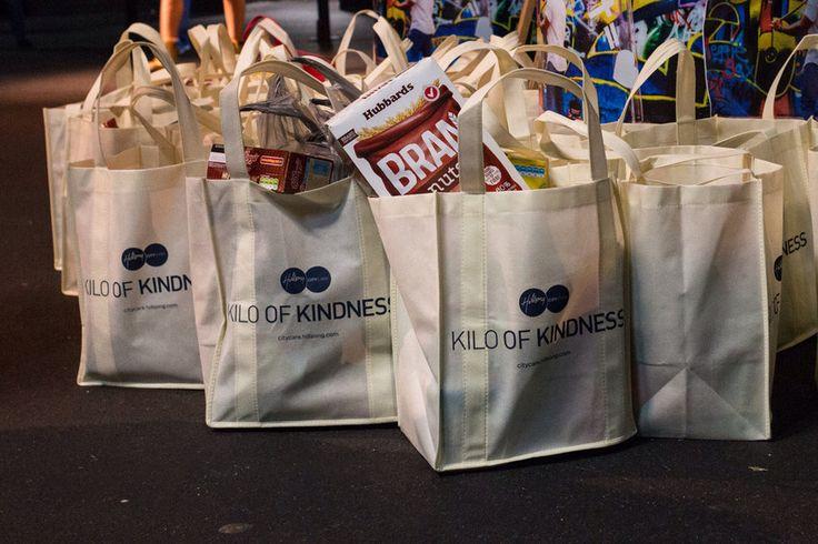 Kilo of kindness bags