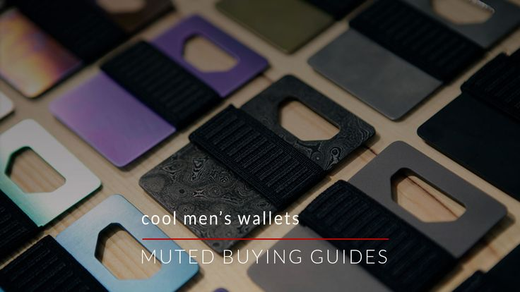 ** COOL MEN'S WALLETS ** Our buying guide will show you some cool men's wallets. These aren't your run of the mill bifold or trifold wallets. Each of the wallets in this guide...