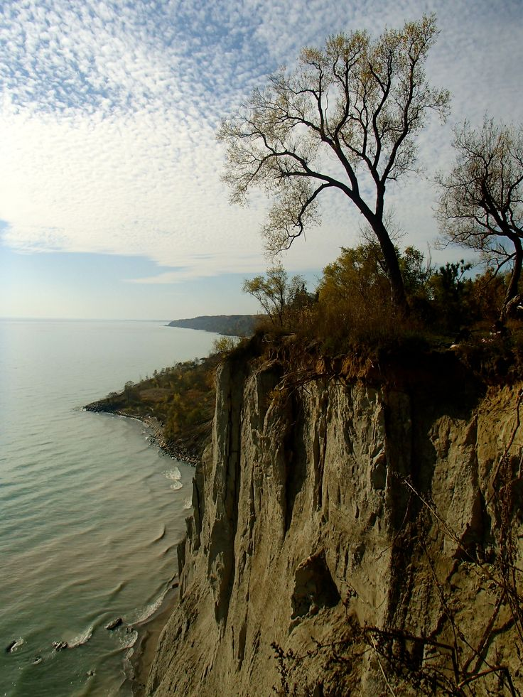 Scarborough Bluffs in #Ontario, #Canada.