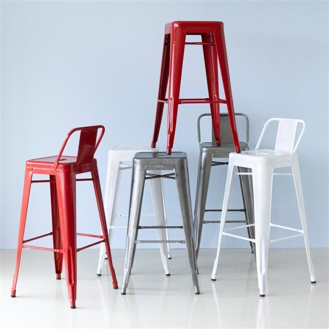 Tabouret haut (lot de 2) Tolix AM.PM