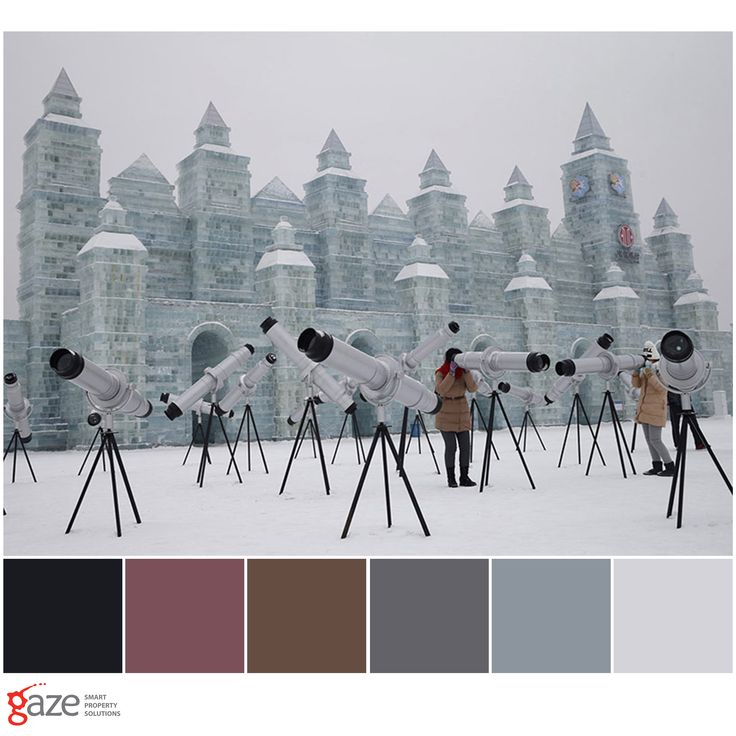 The 24th of June 2016 marked the start of Queenstown Winter Festival - a ten day celebration of winter and Queenstown's unique culture and community. This colour palette is inspired by winter and the Harbin International Ice and Snow Sculpture Festival.