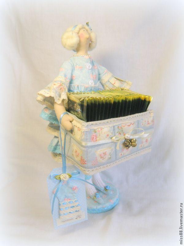 Представляю вашему вниманию мастер-класс по изготовлению чайной дамы в стиле…