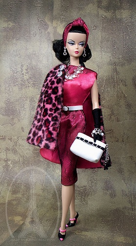 Vintage Barbie by MadeinParis via flickr* 1500 free paper dolls at Arielle Gabriels The International Paper Doll Society and her new book The Goddess of Mercy & the Dept of Miracles about miracles and disasters in mercenary Hong Kong *