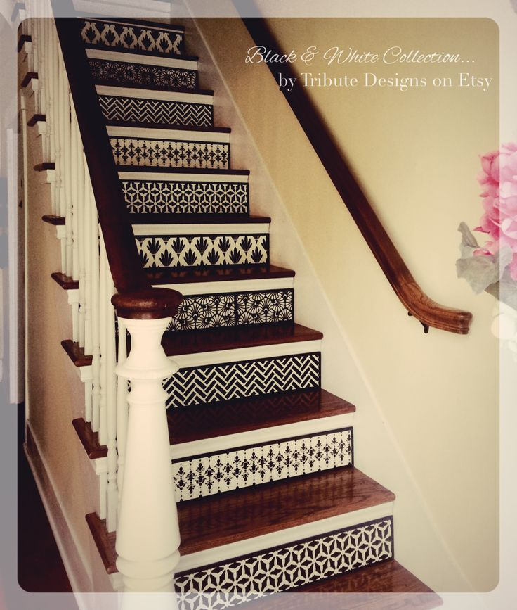 Specializing In Quality, Custom Stair Risers. By TributeDesigns