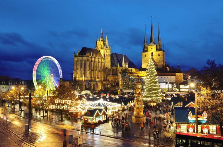 Erfurt Weihnachtsmarkt, Thüringen