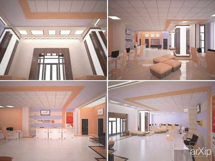 Дизайн-проект офиса компании Sharq Telekom: интерьер, зd визуализация, офис, администрация, прихожая, холл, вестибюль, фойе, эклектика, 30 - 50 м2, интерьер #interiordesign #3dvisualization #office #administration #entrancehall #lounge #lobby #lobby #eclectic #30_50m2 #interior arXip.com
