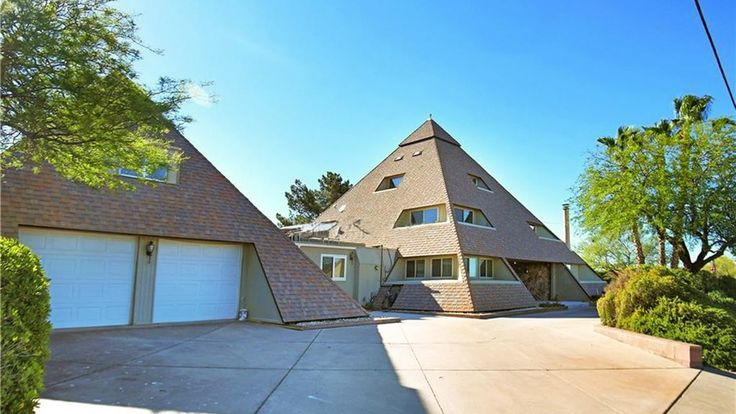 Dont Miss the Completely Bonkers Double Pyramid House in Henderson NV