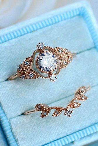 33 Vintage Wedding Rings We're Obsessed With wedding vintage rings Obsessed