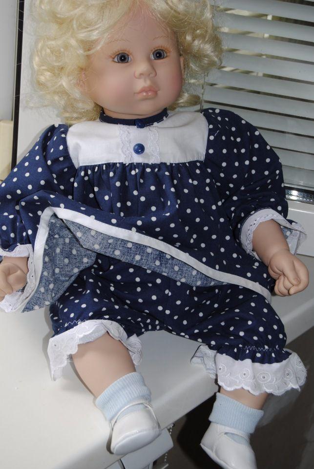 """Наряд """"Летний горошек"""". / Одежда для кукол / Шопик. Продать купить куклу / Бэйбики. Куклы фото. Одежда для кукол"""
