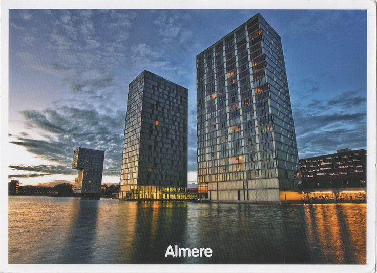 NL-3915499 - Arrived: 2017.10.09   ---   Almere  is a planned city and municipality in the province of Flevoland, Netherlands, bordering Lelystad and Zeewolde. Almere is the newest city in the Netherlands: the land on which Almere sits, the Southern Flevoland Polder, was reclaimed from the IJsselmeer in 1959-68. The first house was finished in 1976, and Almere became a municipality in 1984.