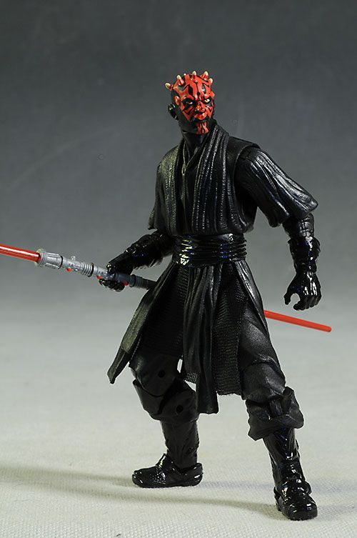 Darth Maul, Sandtrooper Star Wars Black series action figures by Hasbro