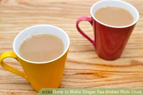 Image titled Make Ginger Tea (Indian Style Chai) Intro