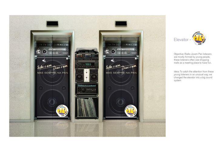 Adeevee - Radio Jovem Pan Radio: Elevator