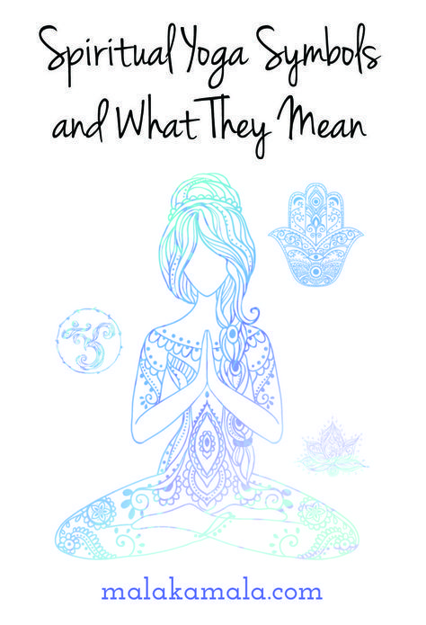 Spiritual Yoga Symbols and What They Mean. The Om or Aum Meaning, Lotus Meaning, Hamsa Hand Hand Of Fatima Meaning, The Tree of Life Meaning, Mandala Meaning, the Chakra System, Ganesh or Ganesha Meaning and Buddha Meaning. Where do they originate? Why are they important in modern yoga practice?