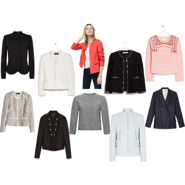 Top 10 jackets and blazers by theworkwearedit on Polyvore featuring Reiss, Gerard Darel, MANGO, Zara and H&M