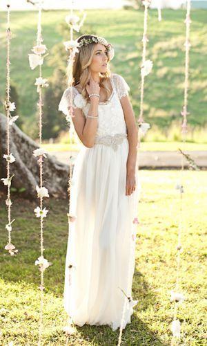 Grace Loves Lace - Boho Wedding Dress Emme Wasted