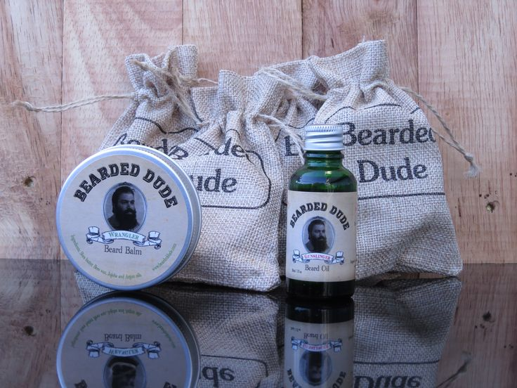 Balm and Oil your Beard up
