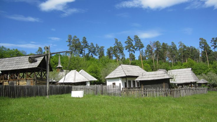 Astra open-air museum in Sibiu, Transylvania
