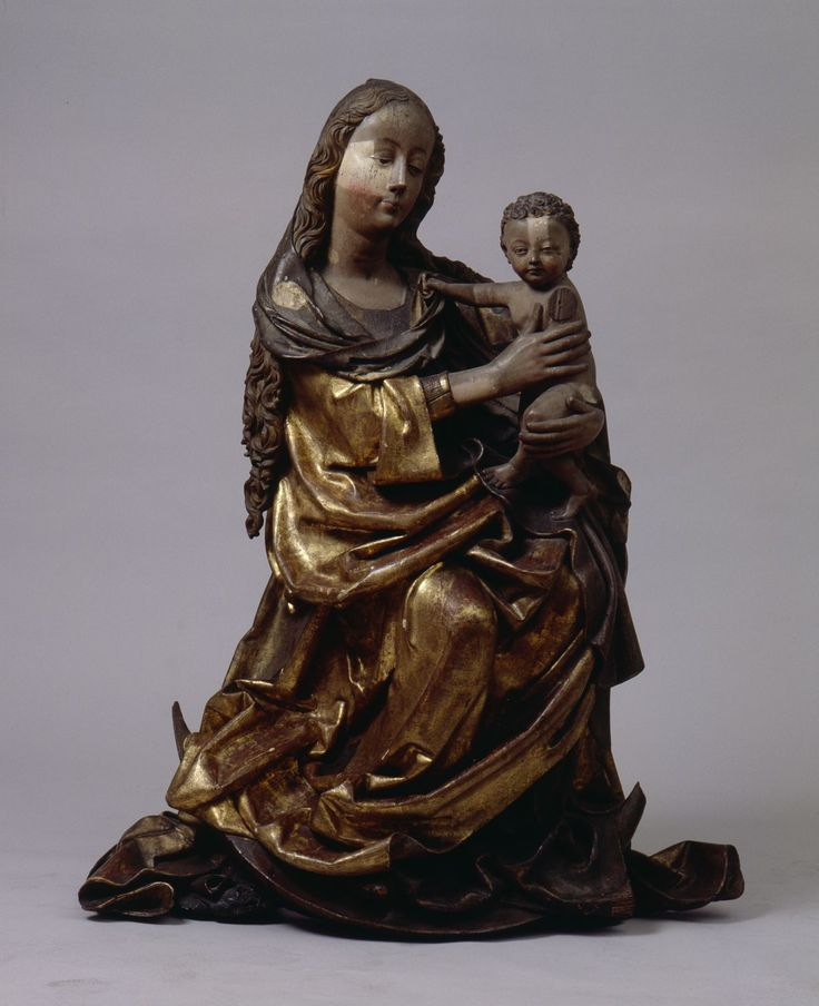 Maria mit dem Kinde (Mittel-Franken, Nürnberg,ca. 1500, Germanisches Nationalmuseum, Nürnberg)