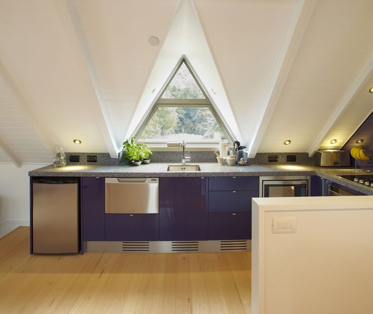 Resene Wicked kitchen counter.