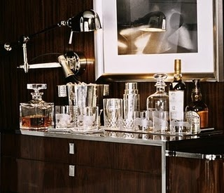 elegant masculine bar | damn this looks like I'm decorating the house not visualising the party