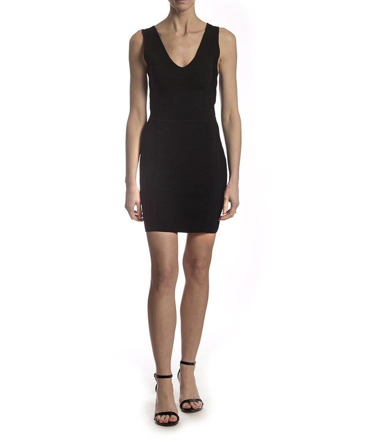 Irvine Knit Dress by Parker. Available in Black.