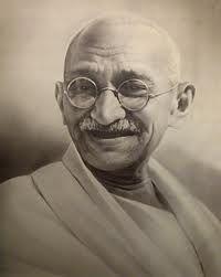 Biografía de Gandhi para infantil