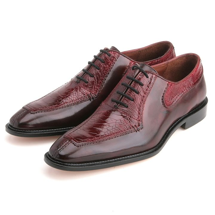 These genuine ostrich #dress #shoes from the house of @belvedere features a  smooth
