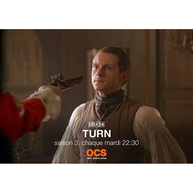 En 1776, l'indépendance des États-Unis, c'est aussi une histoire d'espions ! #Turn nouvel épisode chaque mardi à 22:30 en US+24 ! #turnamc #1776 #independanceday #abewoodhull #culperring